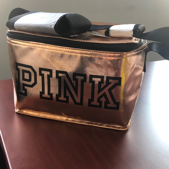 NWT rose gold VS Pink Lunch Box